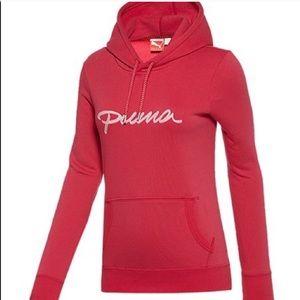 Puma pullover hoodie sweatshirt